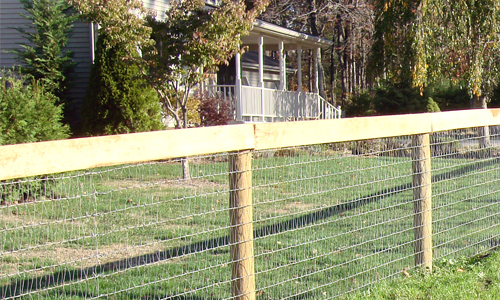 Fence installation the mainline supply corp